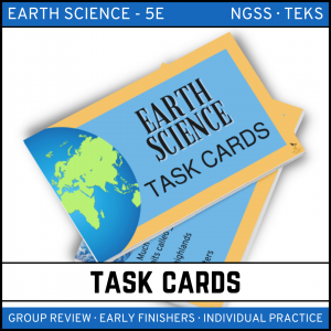 1 4 300x300 - Earth Science Task Card BUNDLE