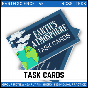 10 4 300x300 - Earth's Atmosphere: Earth Science Task Cards