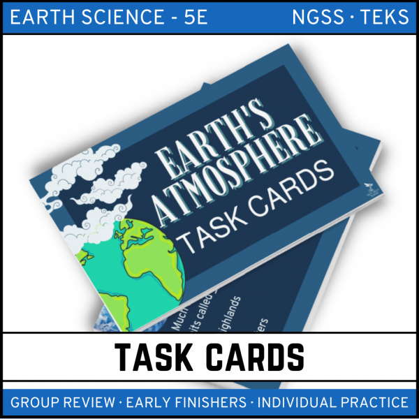 10 4 600x600 - Earth's Atmosphere: Earth Science Task Cards