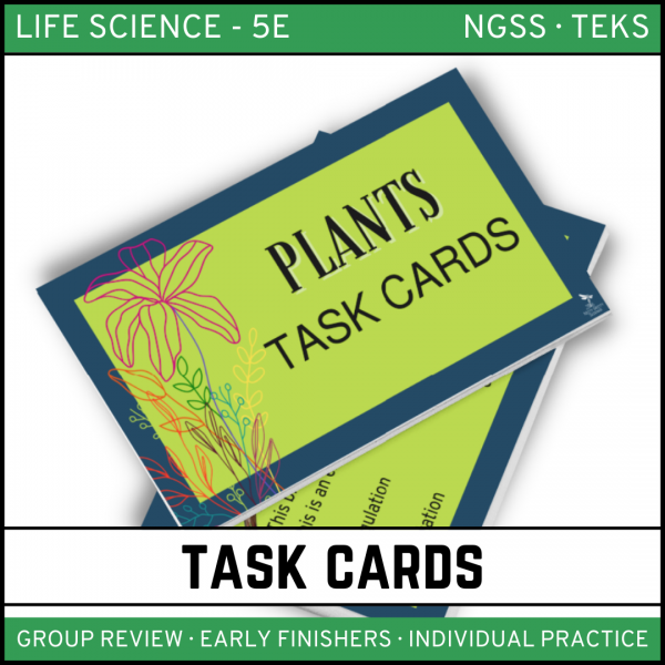 11 1 600x600 - Plants - Life Science Task Cards