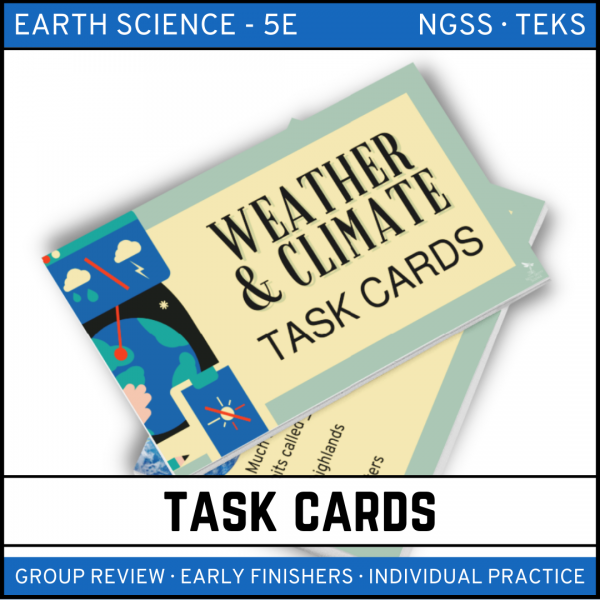 11 3 600x600 - Weather & Climate: Earth Science Task Cards