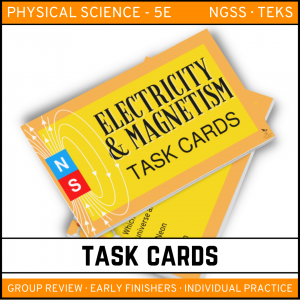 12 5 300x300 - Electricity and Magnetism: Physical Science Task Cards