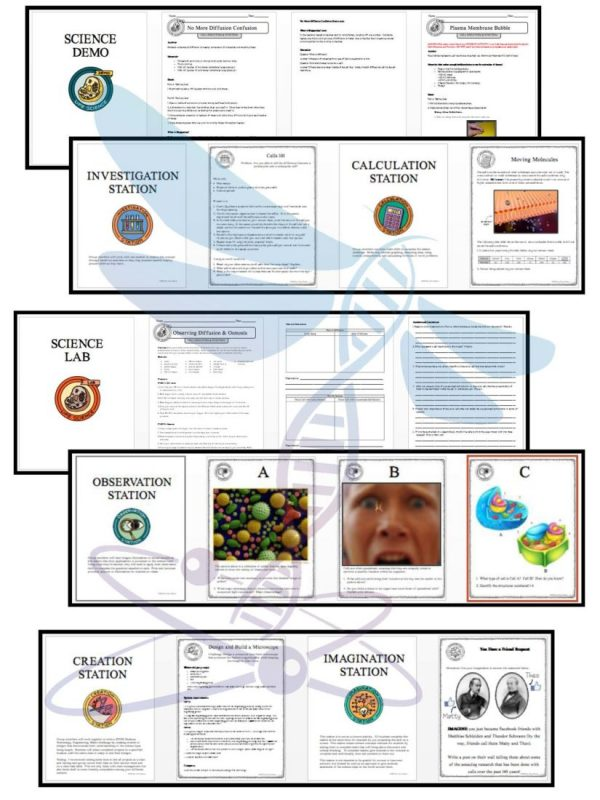 1469820191 PreviewCellsStructureandFunction Page 4 600x800 - CELLS: STRUCTURE AND FUNCTION - Demos, Lab & Science Stations