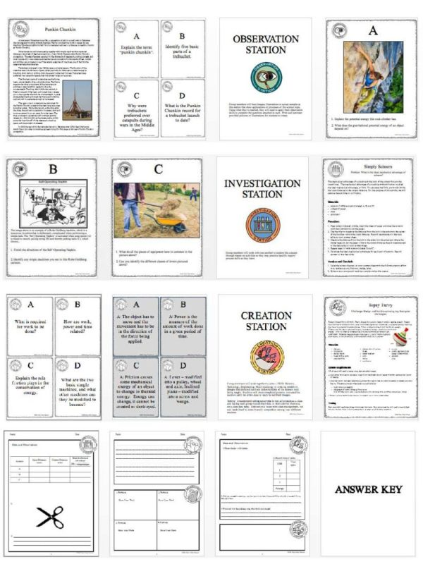 1474422731 demoPreviewEnergyWorkSimpleMachines Page 4 600x800 - ENERGY, WORK & SIMPLE MACHINES - Demo, Lab and Science Stations