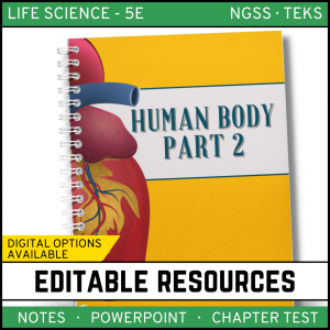 16 300x300 - Human Body - Part 2: Life Science Notes, PowerPoint & Test ~ EDITABLE