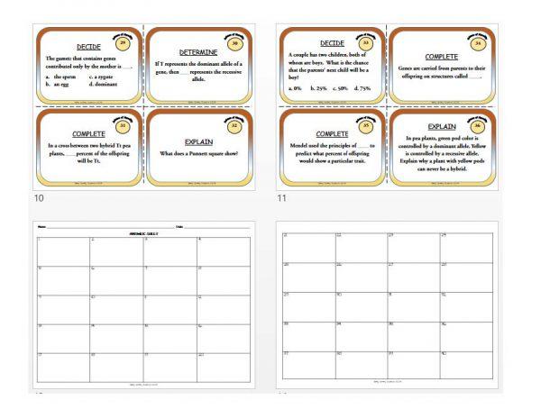 1634615 1 Page 3 600x464 - Life Science Task Card BUNDLE