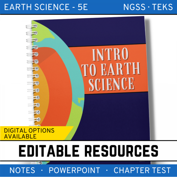 2 5 600x600 - Intro to Earth Science: Earth Science Notes, PowerPoint & Test ~ EDITABLE
