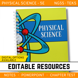 2 7 300x300 - Physical Science Curriculum - Notes, PowerPoint & Chapter Tests ~EDITABLE Bundle