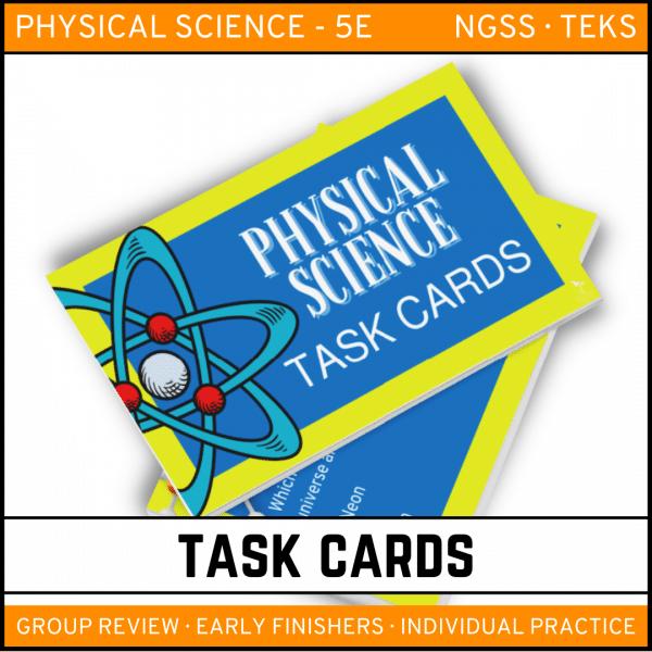 2 8 600x600 - Physical Science Task Card Bundle - 400+ task cards!