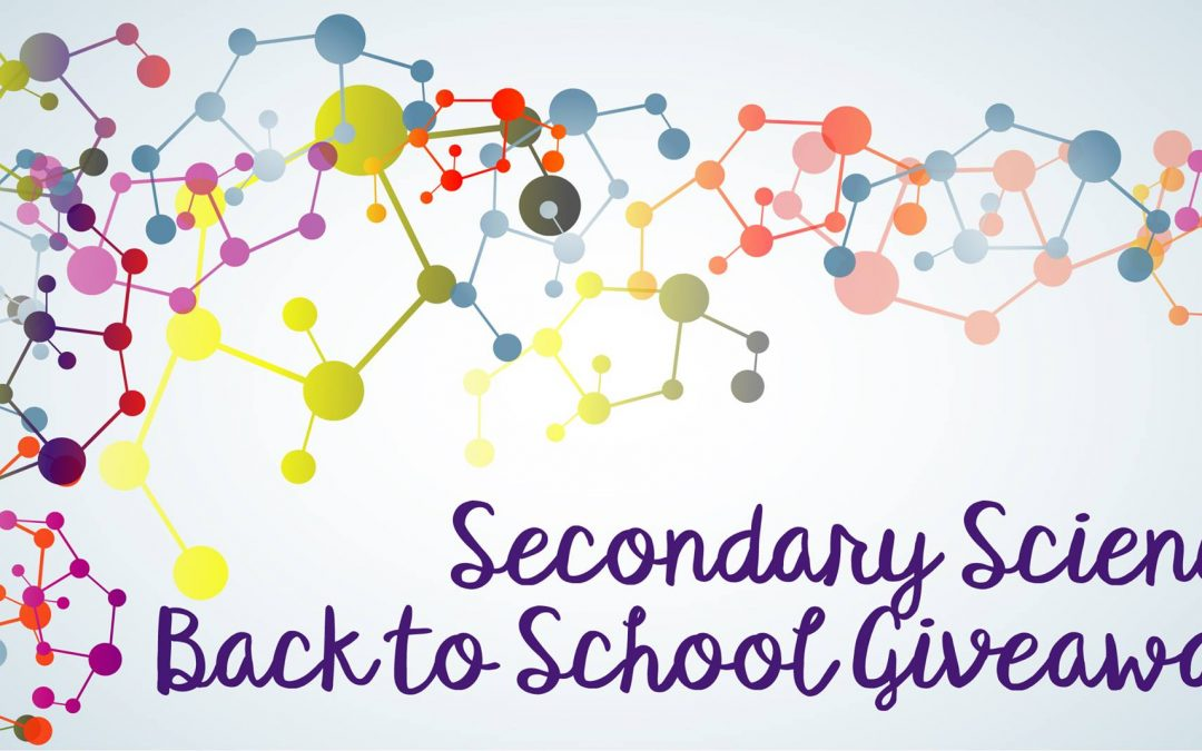 The Annual Secondary Science Giveaway