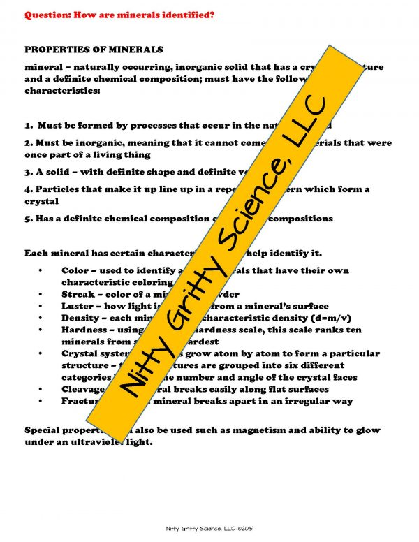 2165218 Page 4 600x776 - Rocks & Minerals: Earth Science Notes, PowerPoint & Chapter Test ~ EDITABLE!