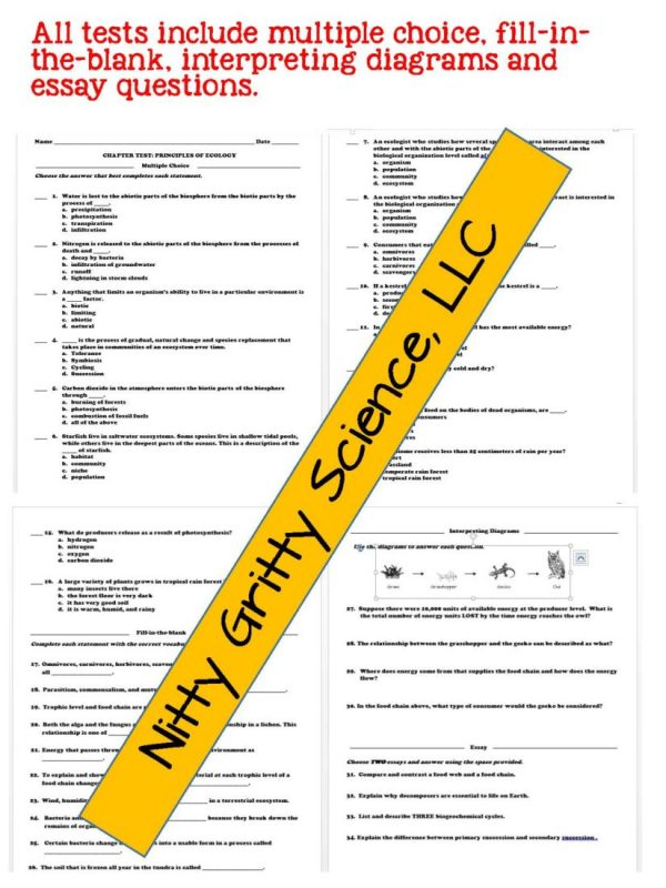 2302341 Page 6 600x800 - Principles of Ecology: Life Science PowerPoint, Notes and Test ~ EDITABLE!