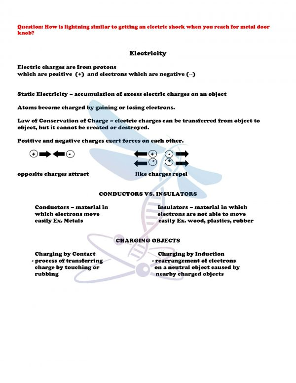 2411412 Page 4 600x776 - Electricity and Magnetism: Physical Science Notes, PowerPoint & Test ~ EDITABLE
