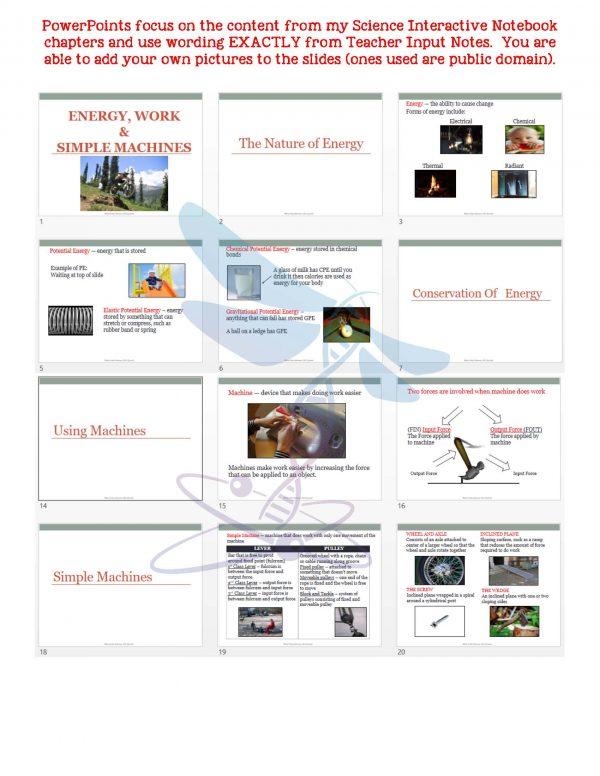 2443708 Page 5 600x776 - Energy, Work & Simple Machines: PS Notes, PowerPoint and Test ~ EDITABLE