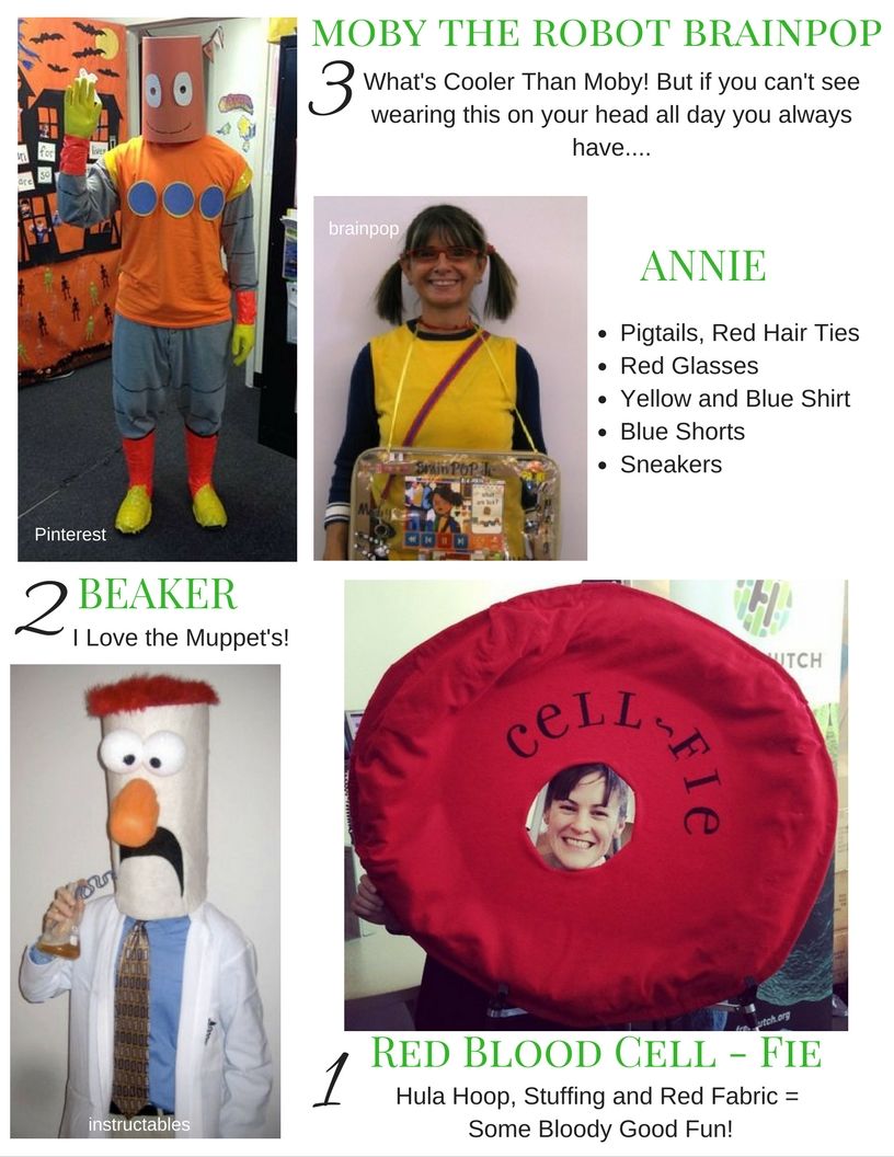 3 - Top 10 Costumes for Science Teachers