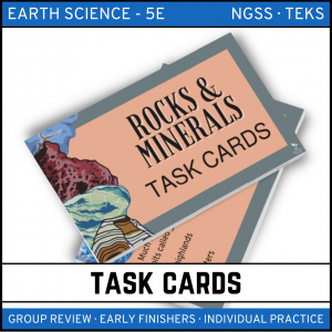 4 4 300x300 - Rocks and Minerals: Earth Science Task Cards