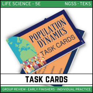 5 2 300x300 - Population Dynamics: Life Science Task Cards