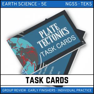 5 4 300x300 - Plate Tectonics: Earth Science Task Cards