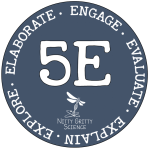 5E model gif 300x300 - Implementing the Nitty Gritty Science Curriculum ~ 5E Model