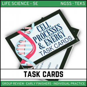 7 2 300x300 - Cell Processes and Energy - Life Science Task Cards