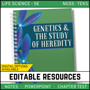 8 1 300x300 - Genetics - Study of Heredity: Life Science Notes, PowerPoint and Test ~ EDITABLE