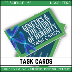 8 2 300x300 - Genetics: Science of Heredity - Life Science Task Cards