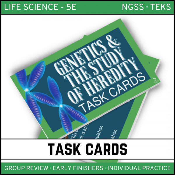 8 2 600x600 - Genetics: Science of Heredity - Life Science Task Cards