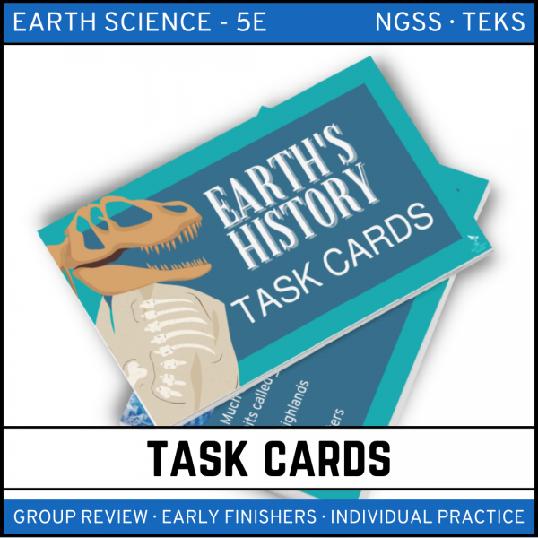 8 4 600x600 - A Trip Through Earth's History: Earth Science Task Cards
