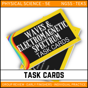 8 6 300x300 - Waves and Electromagnetic Spectrum: Physical Science Task Cards