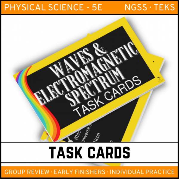 8 6 600x600 - Waves and Electromagnetic Spectrum: Physical Science Task Cards