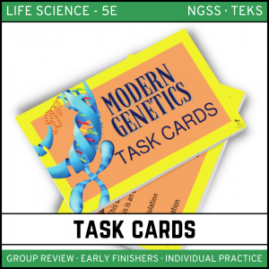 9 2 300x300 - Modern Genetics - Life Science Task Cards