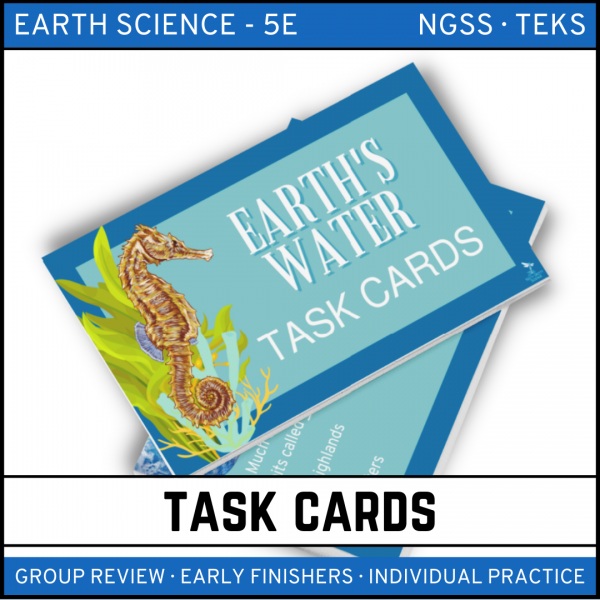 9 4 600x600 - Earth's Waters: Earth Science Task Cards