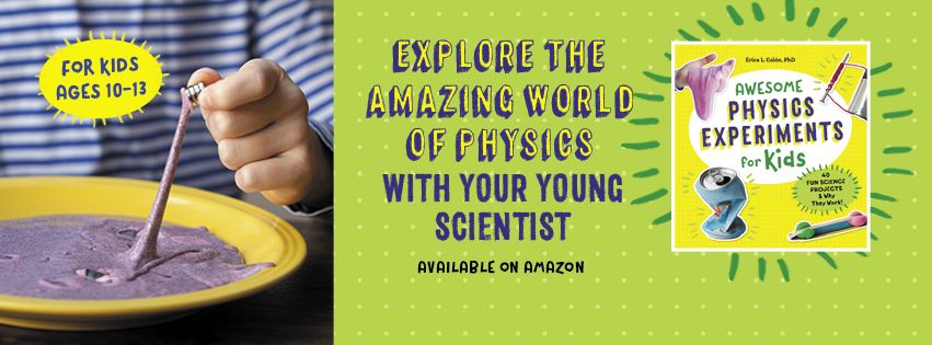 AwesomePhysicsforKids FBper - My Book is Finally HERE and I want to tell you all about it...
