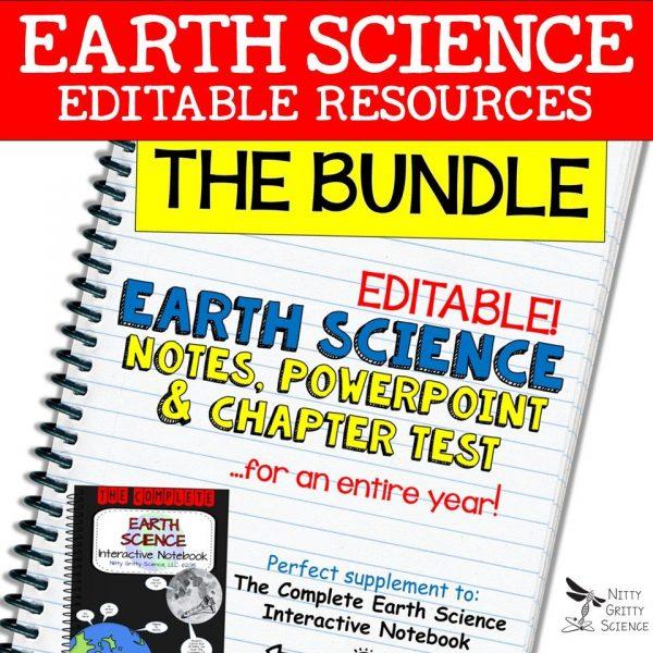 BUNDLE 600x600 - Earth Science Curriculum – Ultimate Bundle v 2.0 ~ NO LABS