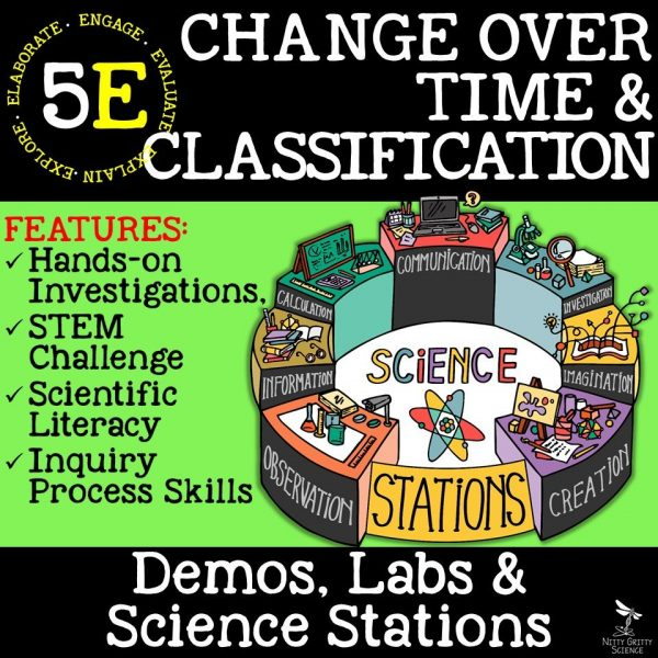 Change Over Time 600x600 - CHANGE OVER TIME & CLASSIFICATION - Demos, Labs and Science Stations