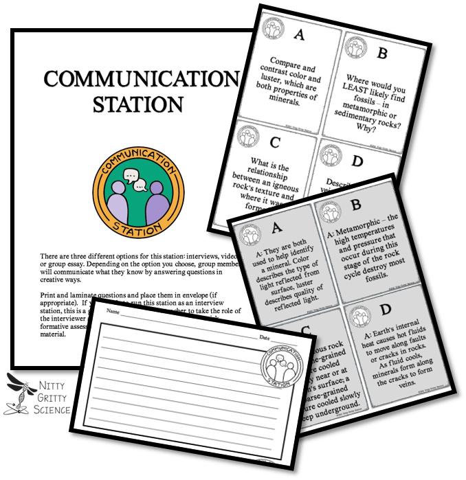 Communication - Implementing Successful Science Stations for ALL Learners