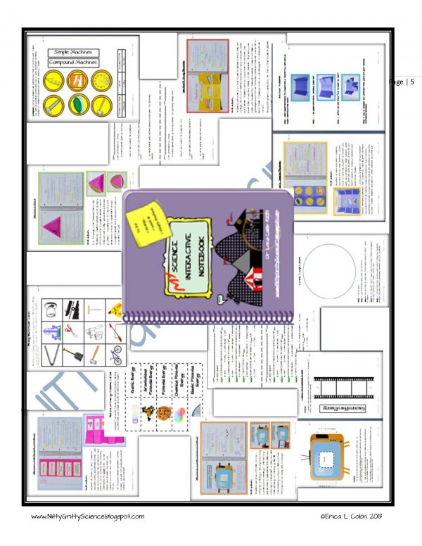 Demo Energy Work and Simple Machines Page 5 600x776 - Energy, Work & Simple Machines