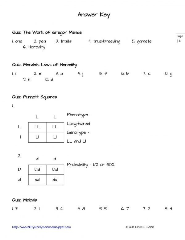 Demo GENETICS The Science of Heredity Page 6 600x776 - Genetics: The Science of Heredity