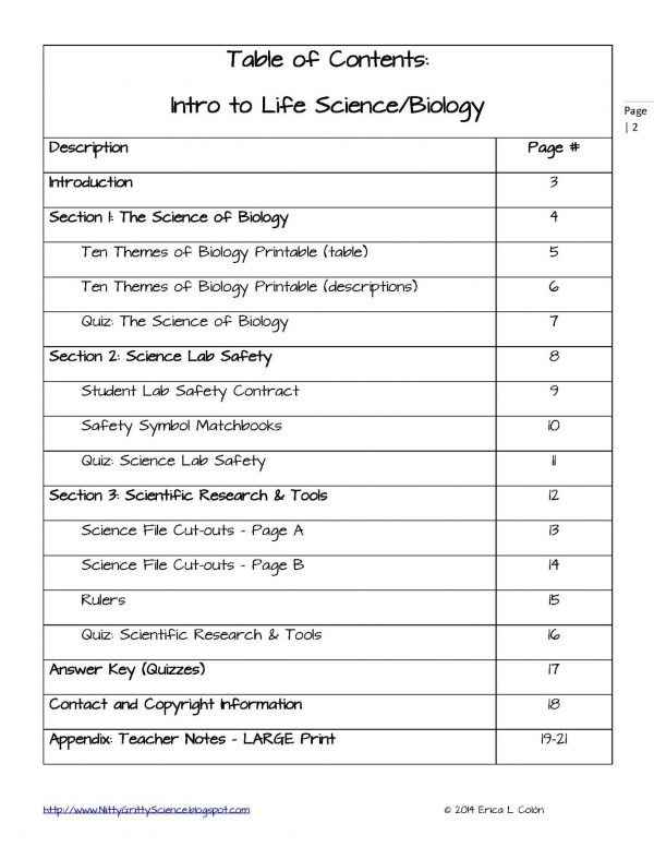 Demo INTRO TO LIFE SCIENCE Page 2 600x776 - Intro to Life Science