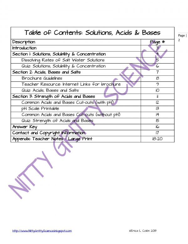 Demo SOLUTIONS ACIDS AND BASES Page 2 Copy 600x776 - Solutions, Acids and Bases