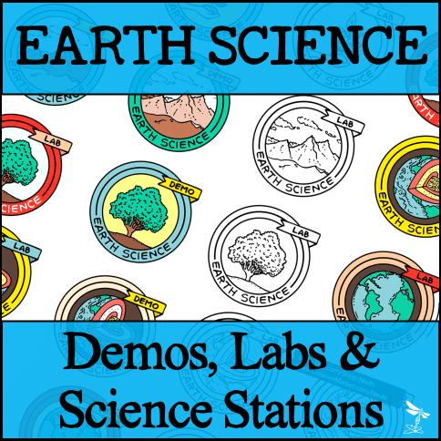 ES Demos Labs Stations Bundle - EARTH SCIENCE Demos, Labs & Science Stations BUNDLE