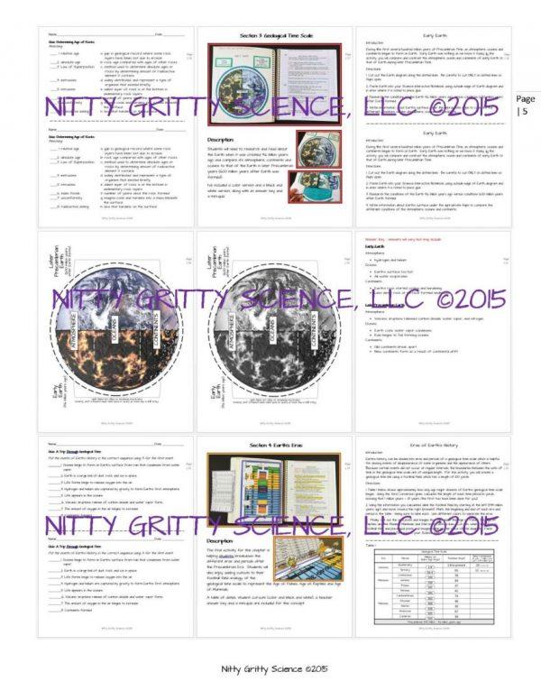 ES INB A Trip Through Earths History Page 5 600x776 - A Trip Through Earth's History