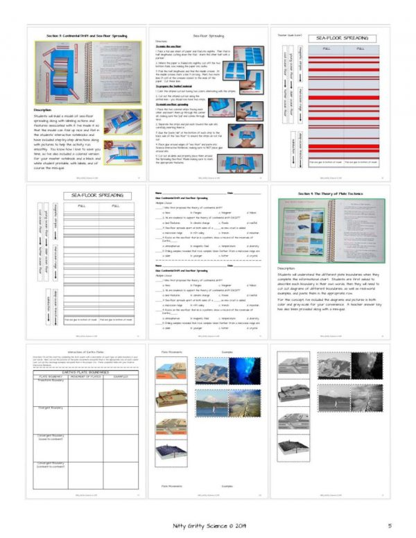 ES INB Plate Tectonics Page 5 600x776 - Plate Tectonics
