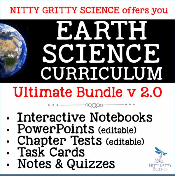 ES Ultimate Bundle 600x605 - Earth Science Curriculum – Ultimate Bundle v 2.0 ~ NO LABS