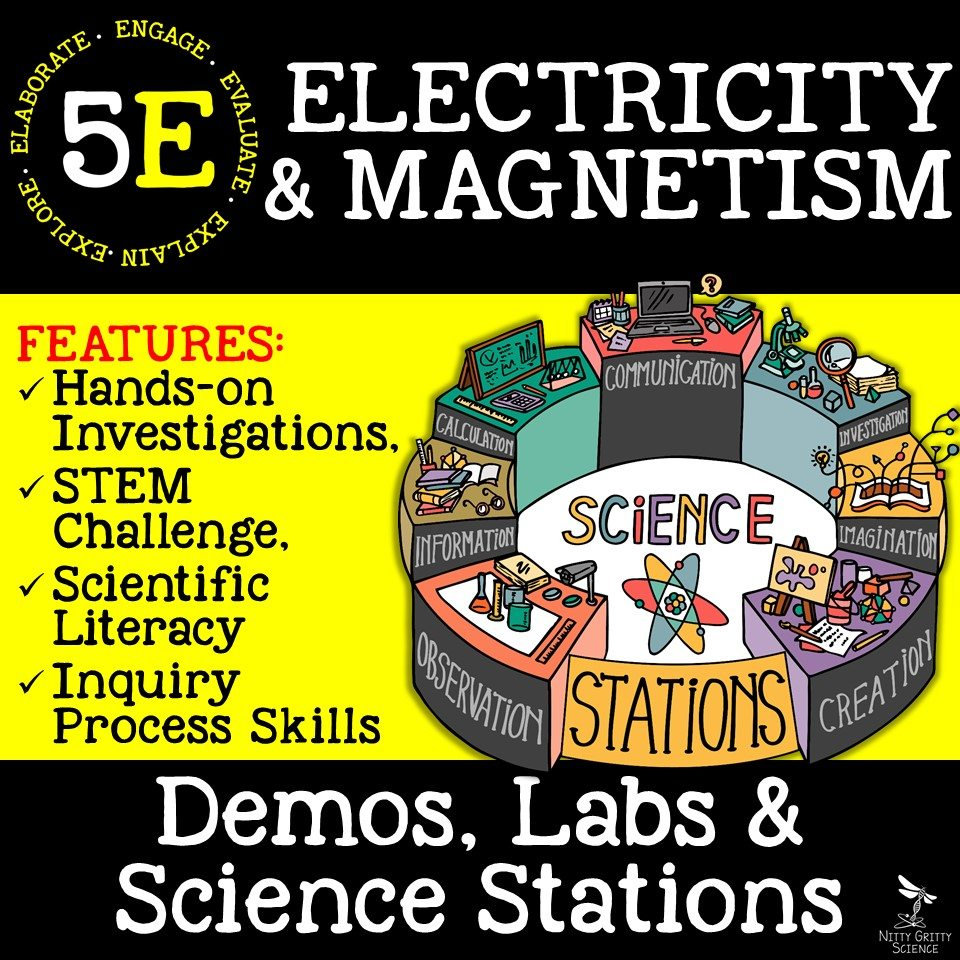 Electricity Magnetism - STEM Activity: Holiday Light Circuits