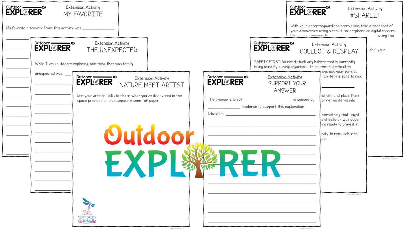 Extension Activities Preview - Outdoor Explorer – Science and Nature Activities for Elementary Students