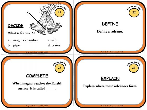 Forces that Shape the Earth Page 08 600x450 - Forces that Shape the Earth: Earth Science Task Cards