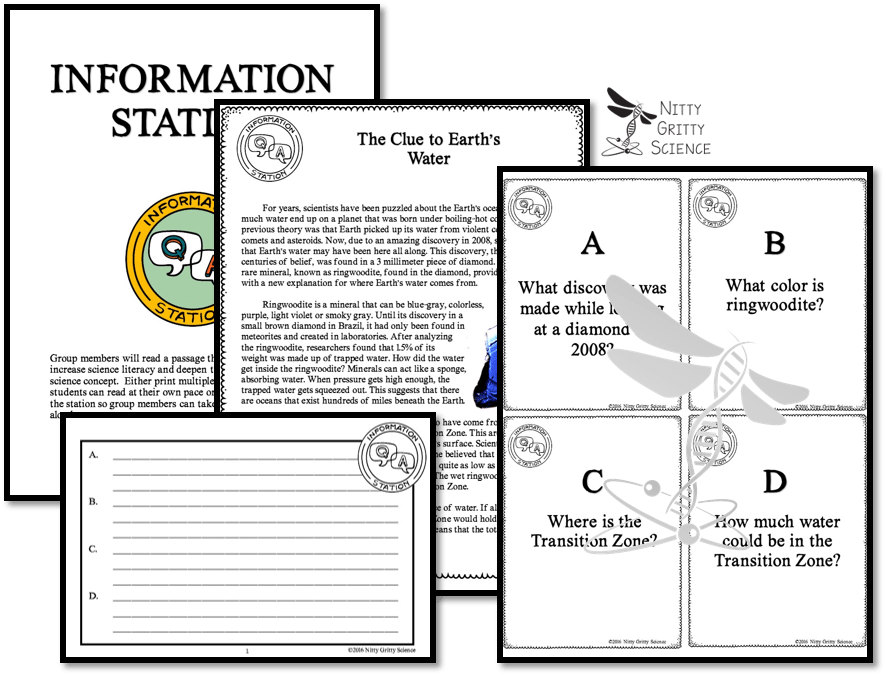 Information - Implementing Successful Science Stations for ALL Learners