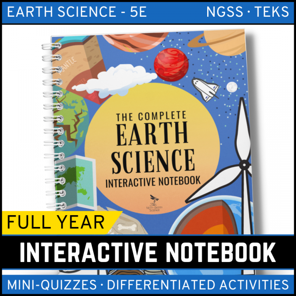 Intro to Earth Science 1 600x600 - Earth Science Interactive Notebook: The Complete Bundle for an Entire Year