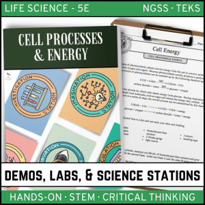 Intro to Earth Science 10 300x300 - CELLS: PROCESSES & ENERGY - Demos, Labs and Science Stations